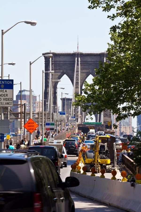 Download Brooklyn Bridge entrence editorial image. Image of manhattan - 20870285