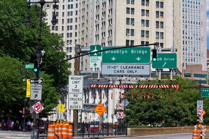 Brooklyn Bridge entrence