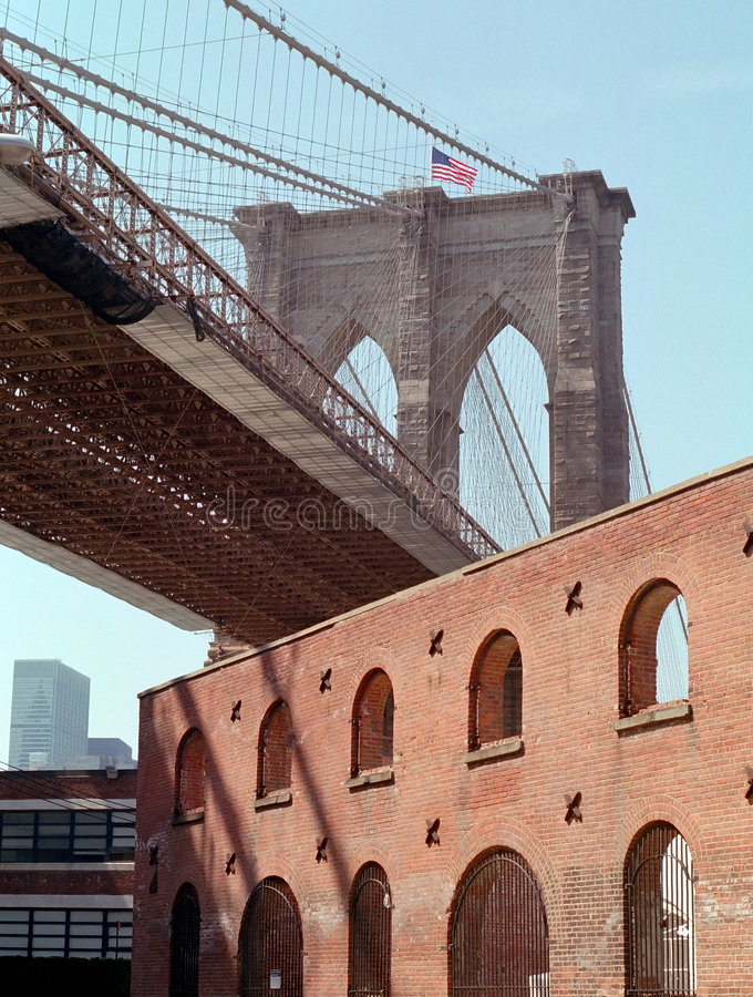 Brooklyn Bridge New York USA stock images