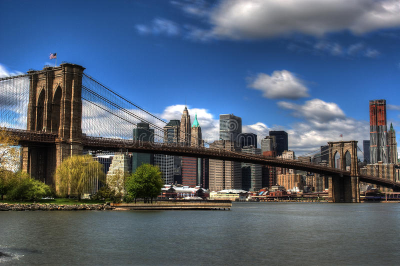 Download Brooklyn Bridge In New York City Stock Photo - Image: 13966880