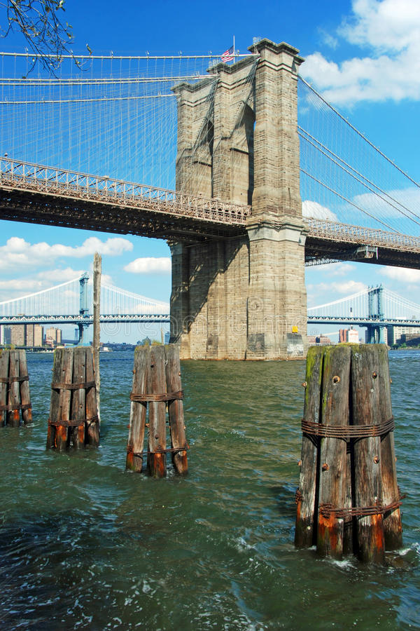 Download Brooklyn Bridge In New York City Royalty Free Stock Photography - Image: 18547927