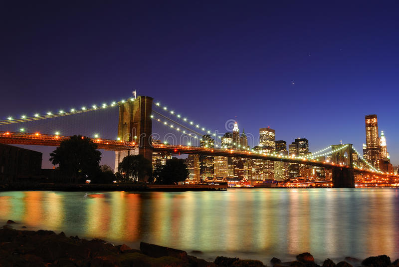 Download Brooklyn Bridge In New York City Stock Photo - Image: 19428380