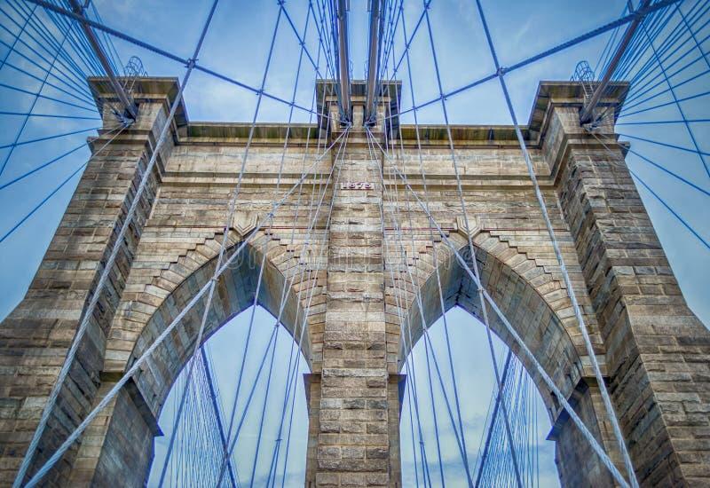 Download Brooklyn Bridge stock photo. Image of skyline, icon, cityscape - 33041858