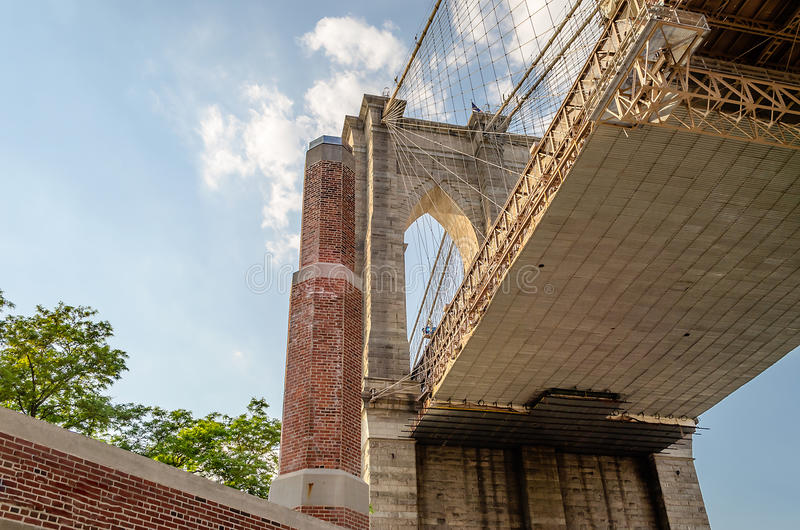 Download Brooklyn Bridge stock image. Image of lower, architecture - 33042429