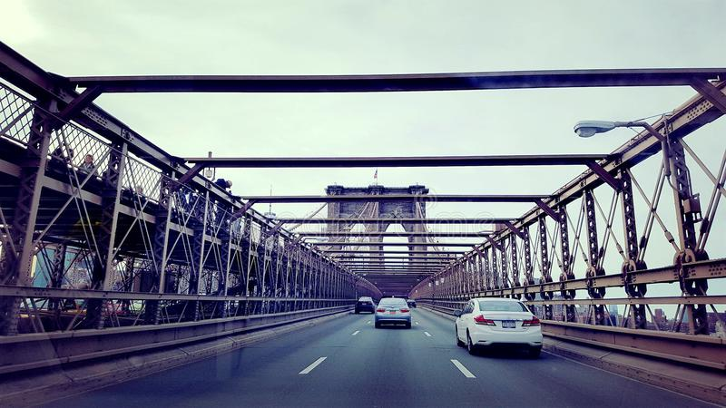Brooklyn brodäck royaltyfria bilder
