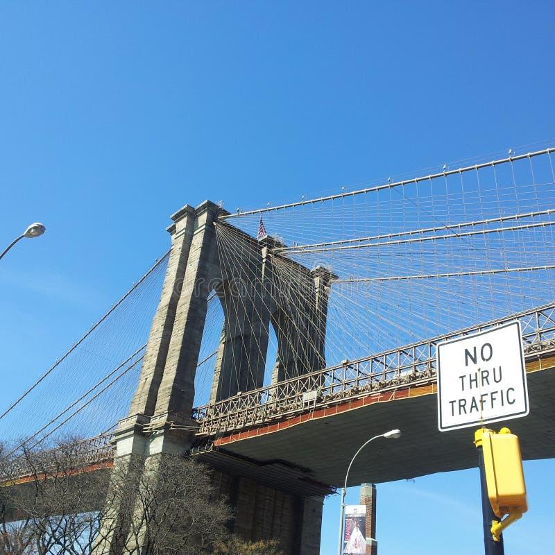 Brooklyn faisant face à Manhattan photos libres de droits