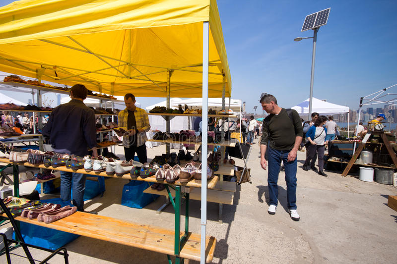 Brooklyn Flea Market royalty free stock photos