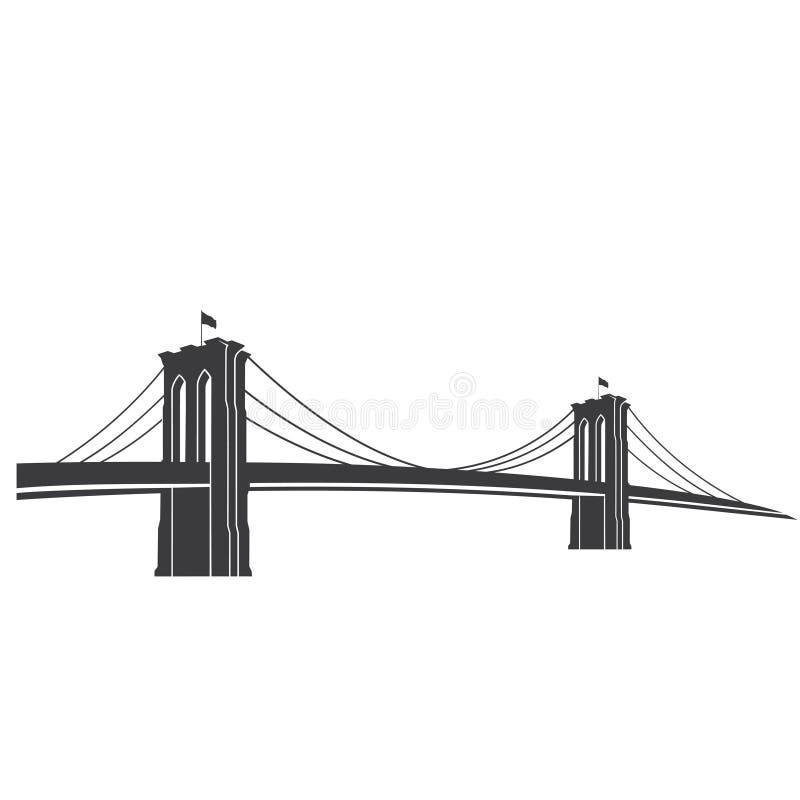 Brooklyn_grey illustration libre de droits