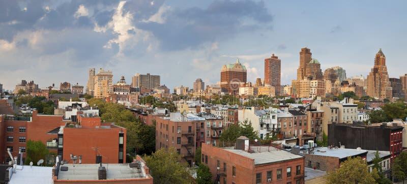 Brooklyn höjder. arkivbild