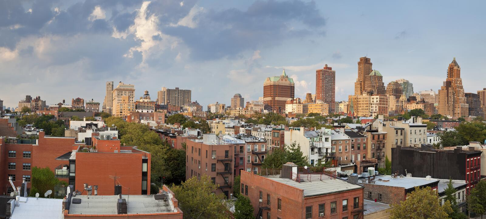 Brooklyn Heights. stock photography