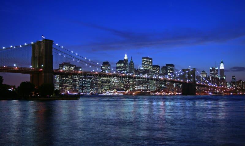 Brooklyn most nowego jorku obrazy royalty free