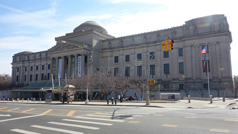 Brooklyn Museum. The Brooklyn Museum, the second largest museum in New York City stock photo