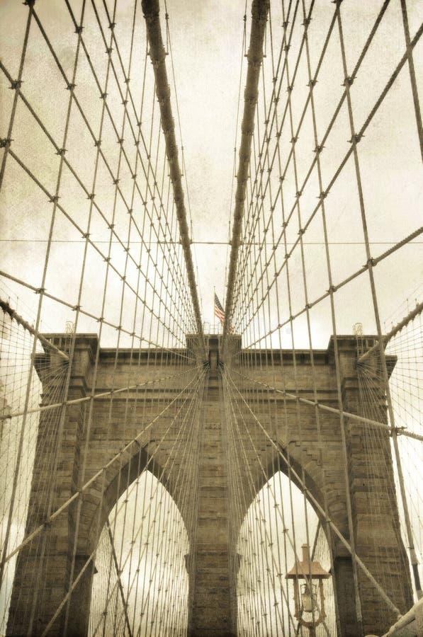 Brooklyn's bridge stock photography