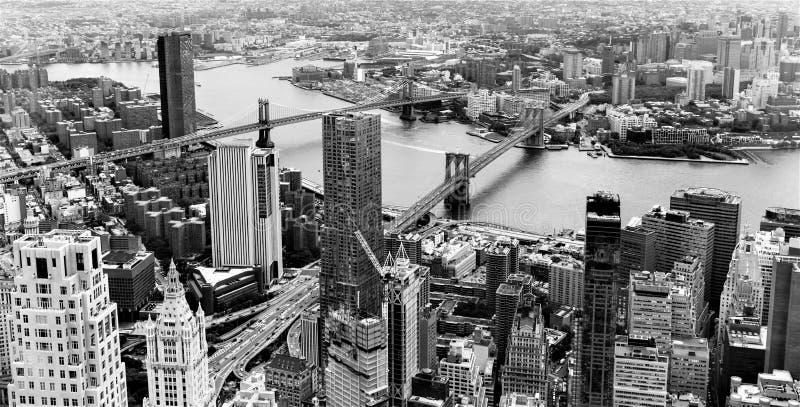 Brooklyn van het One World-Waarnemingscentrum, de Stad van New York, de V.S. stock foto