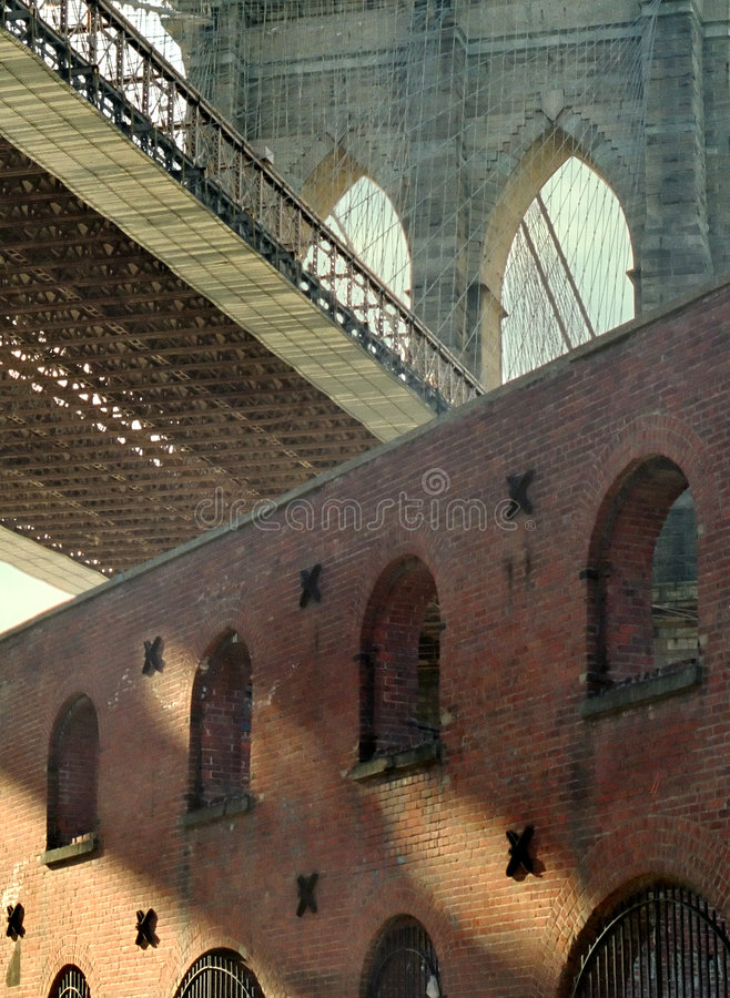 Brooklyn velha New York fotografia de stock