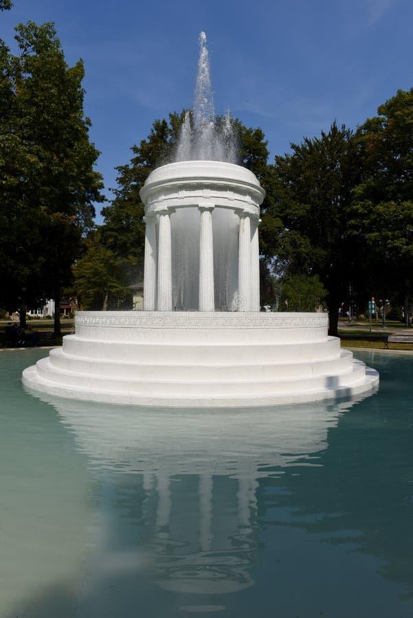 Brooks Memorial Fountain stock image