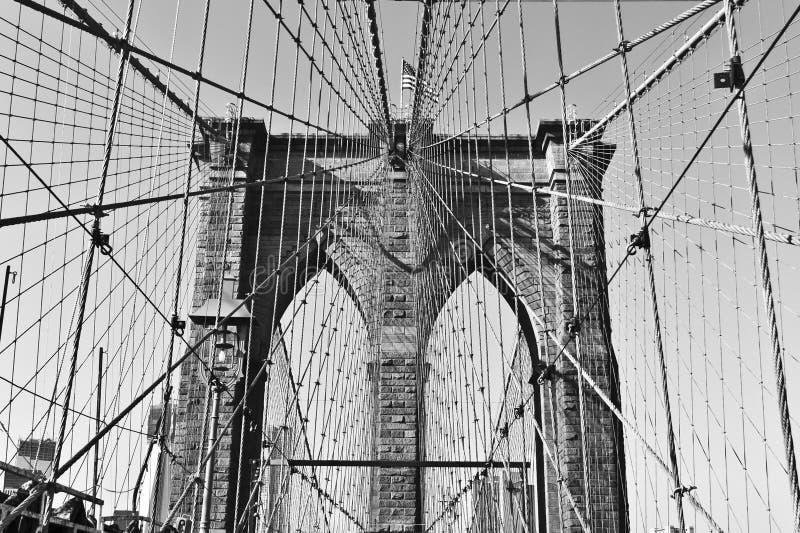 Brookyn桥梁 免版税库存照片