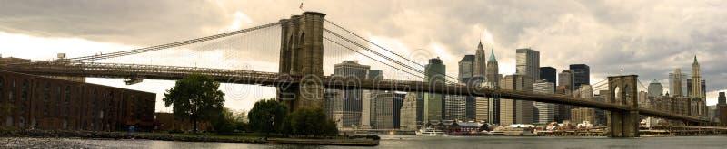 Brookyn Brücke stockfoto