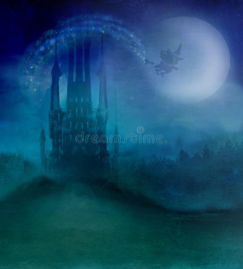 broom ведьма летания бесплатная иллюстрация