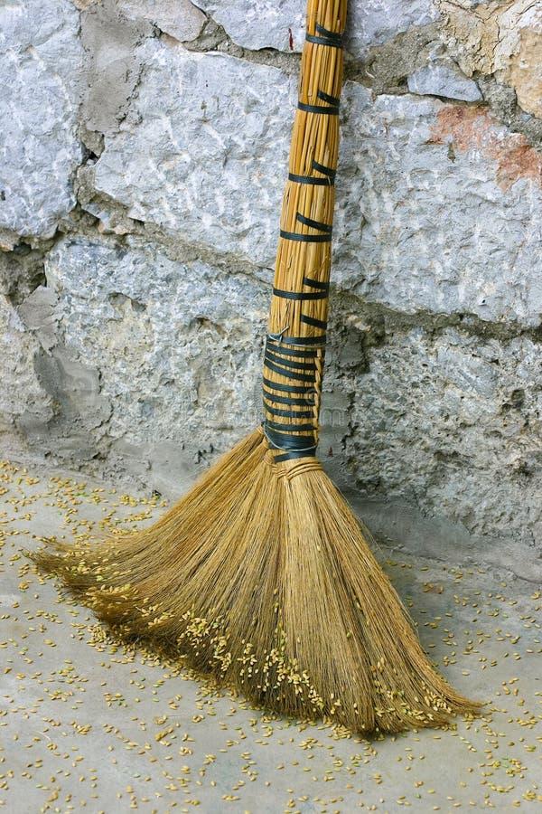 Free Broom Royalty Free Stock Photo - 18546425