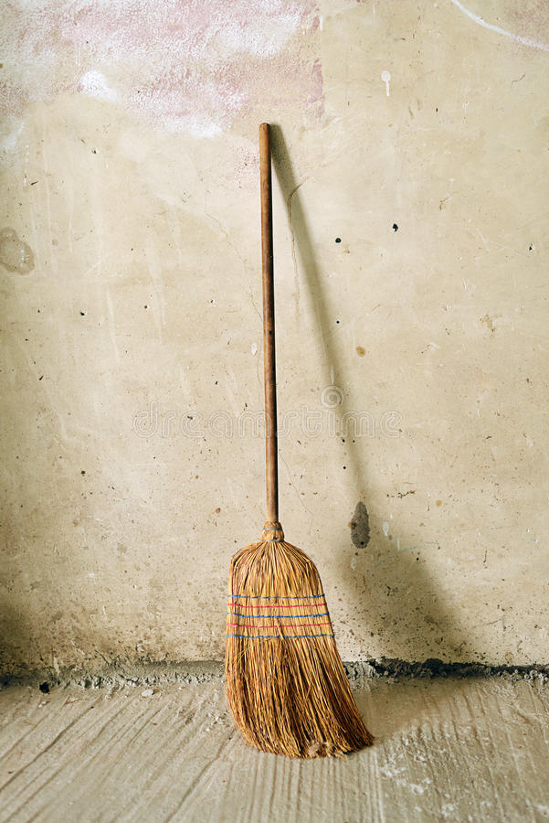 Broom or besom stock photos
