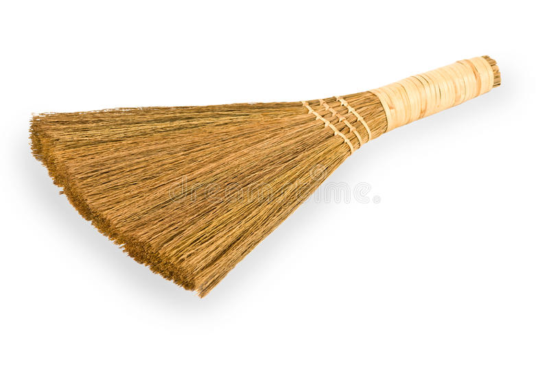 Download Broom Straw On White Background Stock Image - Image: 19758015