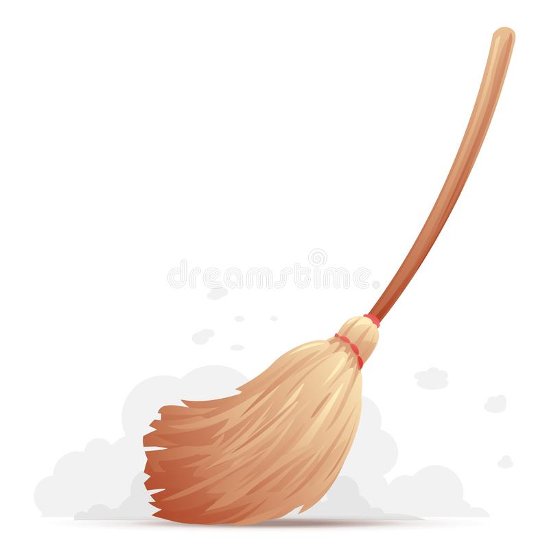Free Broom Sweep Floor Stock Image - 114557901