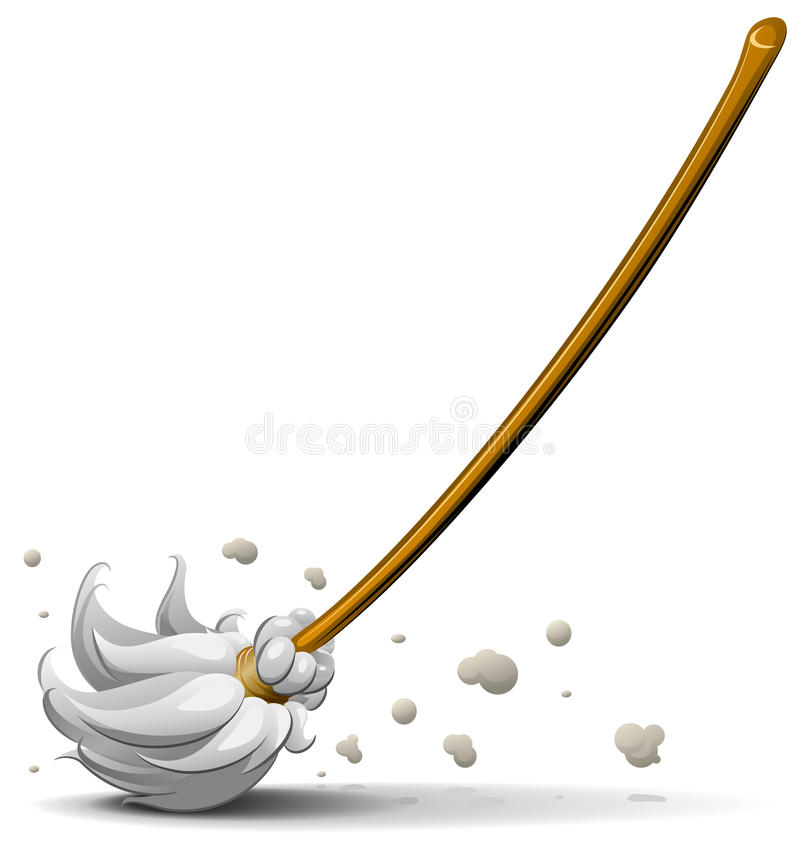 Free Broom Sweep Floor Royalty Free Stock Images - 15248719