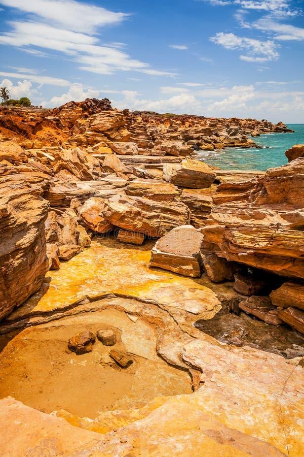 Broome Australië stock foto