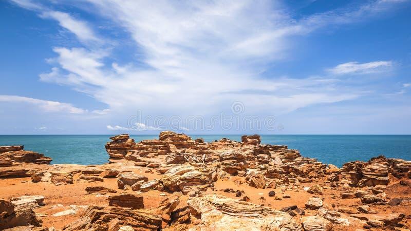 Broome Australien royaltyfri bild