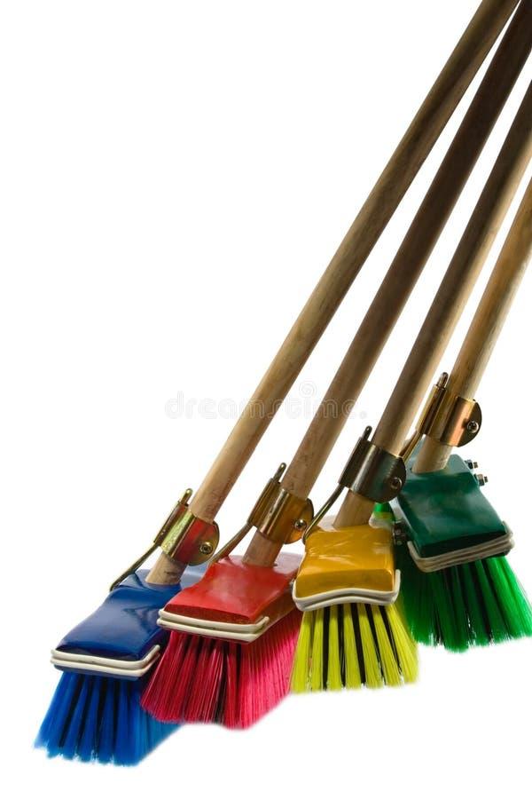 Free Brooms Stock Image - 2479081