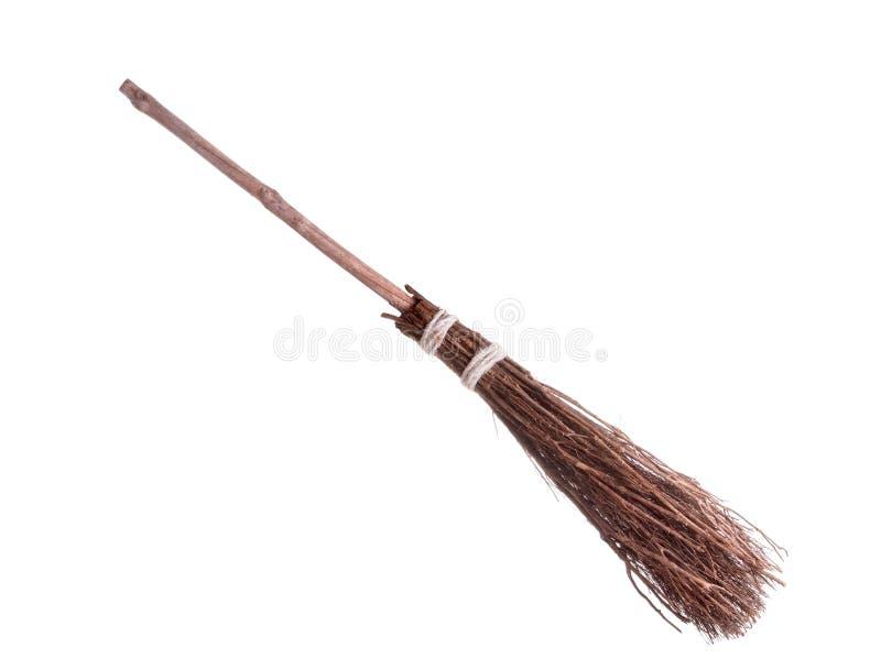 broomstick czarownicy zdjęcie stock