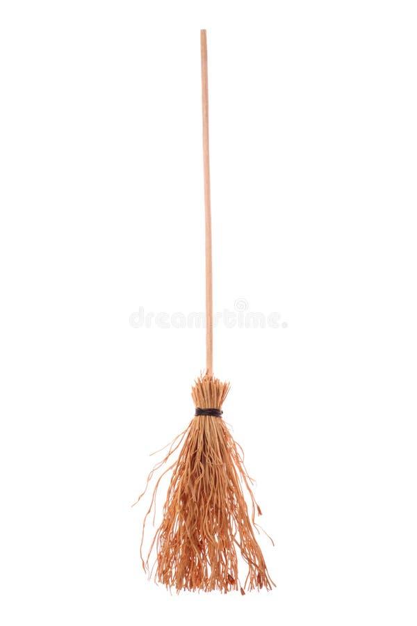 Broomstick da bruxa imagens de stock