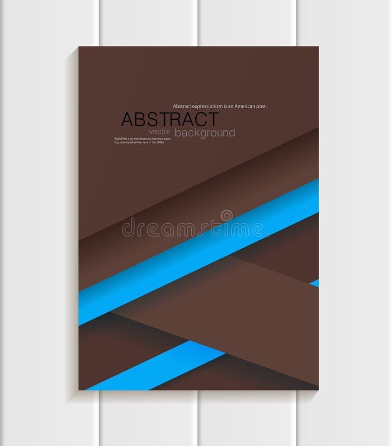 Download Broschyr I Materiell Designstil Vektor Illustrationer - Illustration av affisch, baner: 78732254