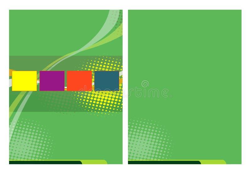 broschyrbegrepp stock illustrationer