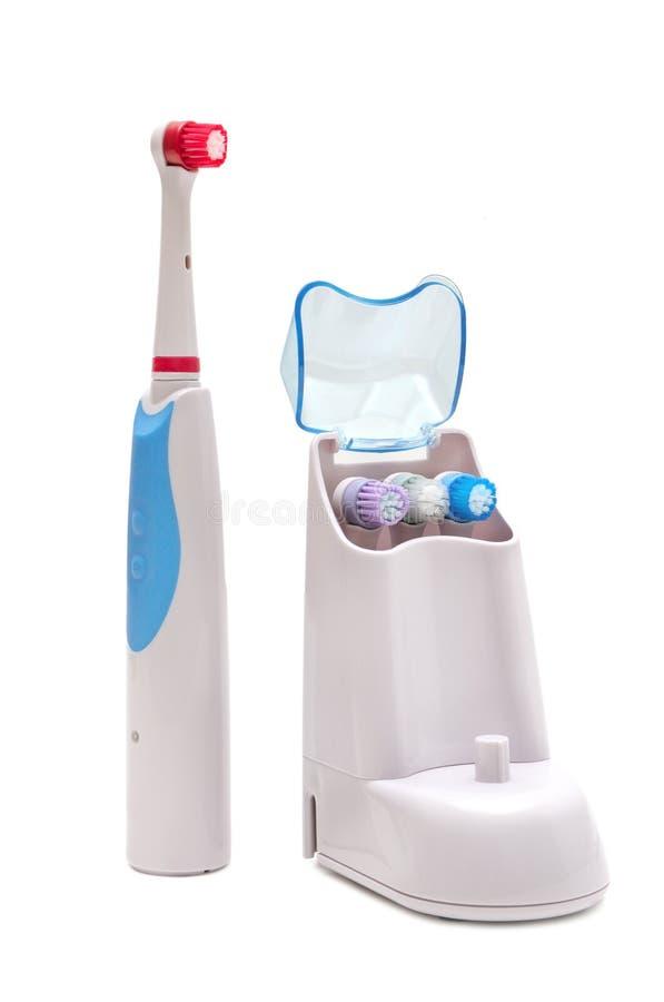 Brosse à dents électrique photographie stock