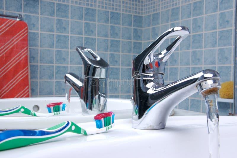 Brosse à dents 6 photos libres de droits