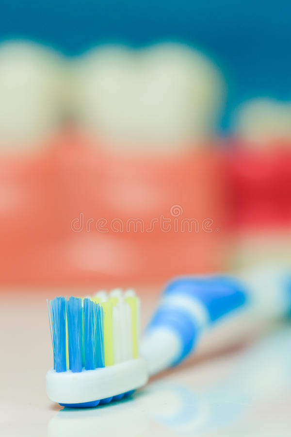 Brosse à dents photo stock