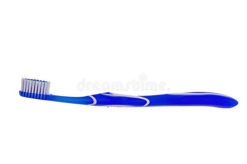 Brosse à dents bleue photographie stock libre de droits