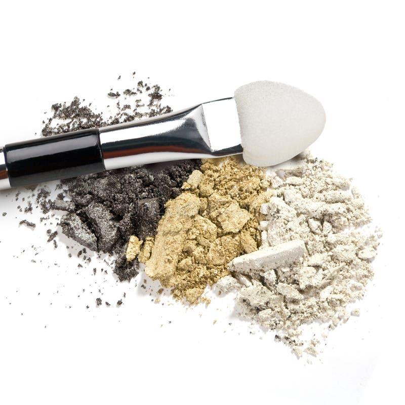 Brosse de maquillage photographie stock