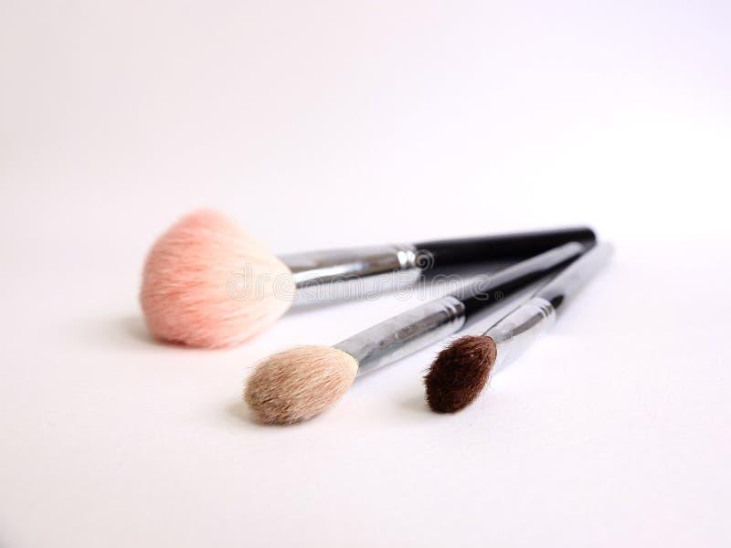 Brosse de maquillage image libre de droits