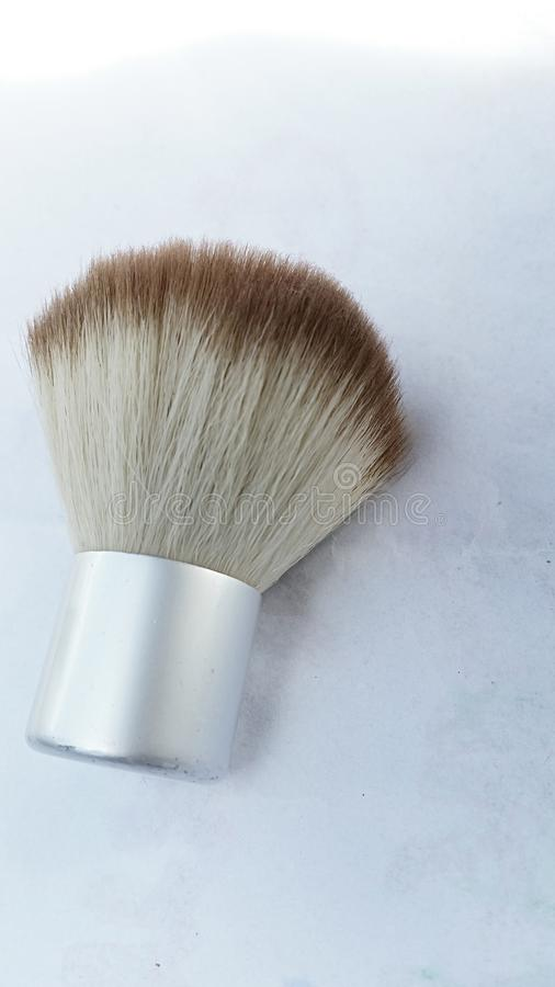 Brosse de maquillage de Kabuki images libres de droits