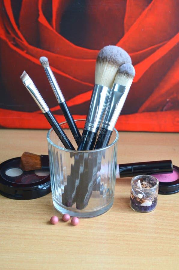 Brosses de maquillage photos libres de droits