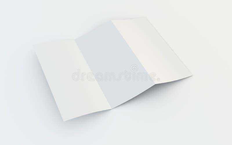 broszura pusta ilustracji
