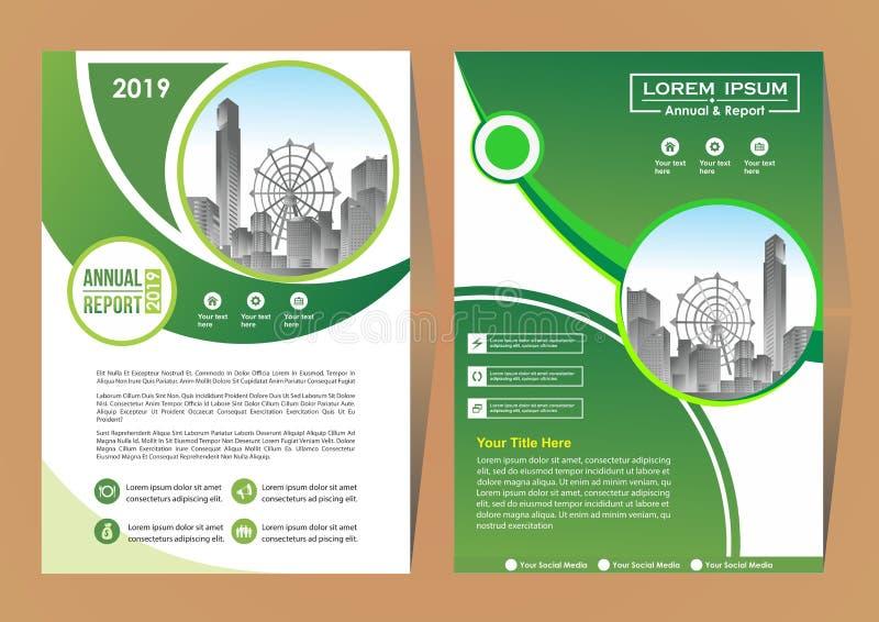 Broszurka szablonu uk?ad, ok?adkowy projekta sprawozdanie roczne, magazyn, ulotka lub broszura w A4 z b??kitnymi geometrycznymi k ilustracji