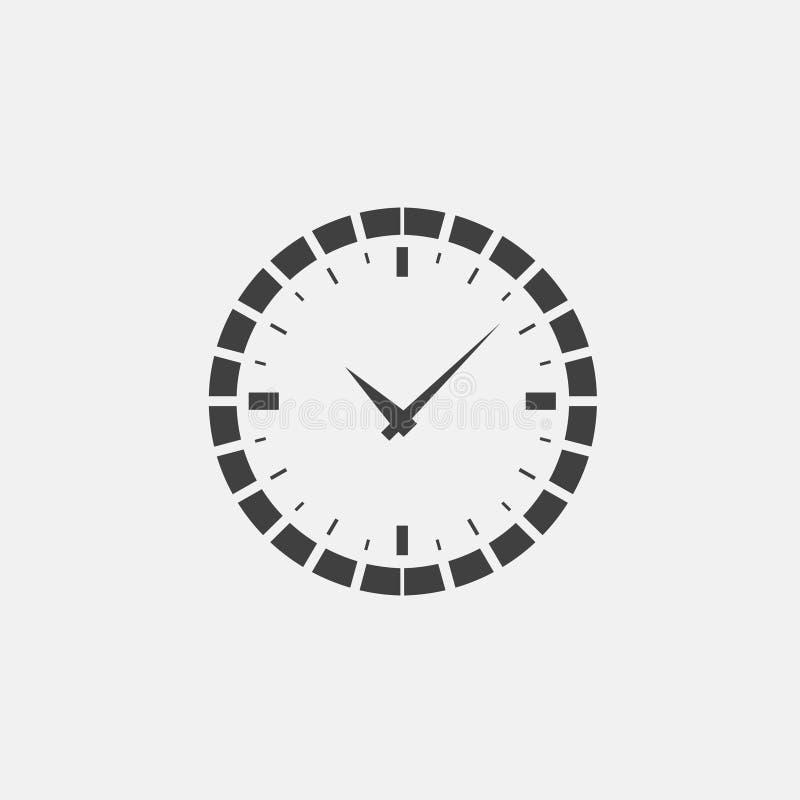 broszurki kawiarni zegaru projekta rozwidlenia tworzą ręk ikony łyżki ilustracja wektor