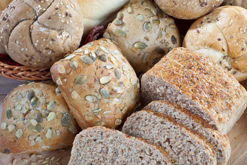 Brot stockfotografie