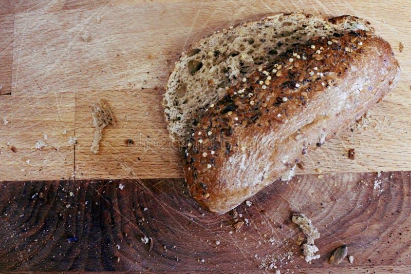 Brot in der Küche: guten Morgen lizenzfreie stockbilder