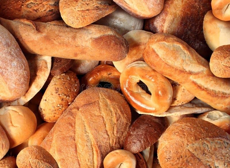 Brot-Hintergrund lizenzfreies stockfoto