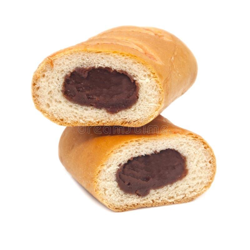 Brot mit roten Bohnen stockfotos